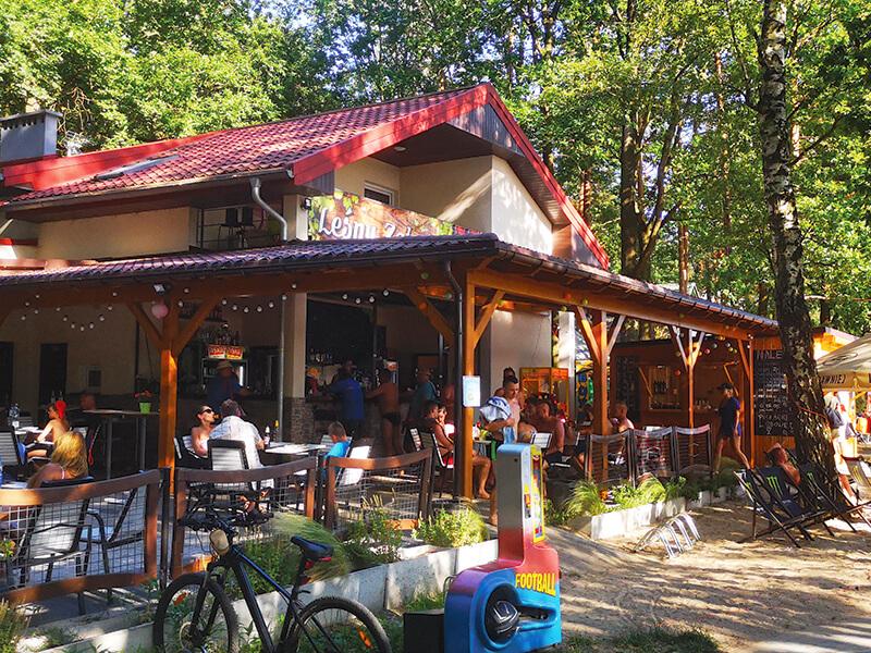 Bar Lesny Zakatek - Jezioro Srednie w Turawie