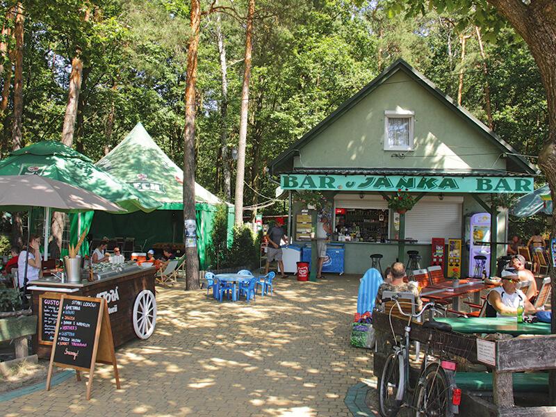 Bar u Janka - Jezioro Srednie w Turawie